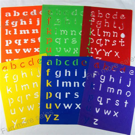 plastic letter templates popular plastic alphabet stencils buy cheap plastic