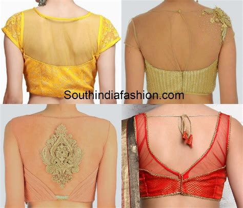blouse pattern net saree blouse patterns for net sarees www imgkid com the