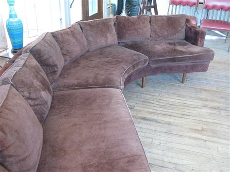 large curved sectional sofa large 1960s curved sectional sofa at 1stdibs