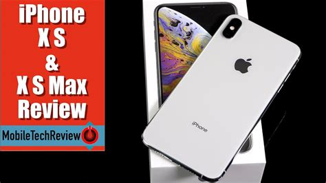 iphone xs  iphone xs max review youtube