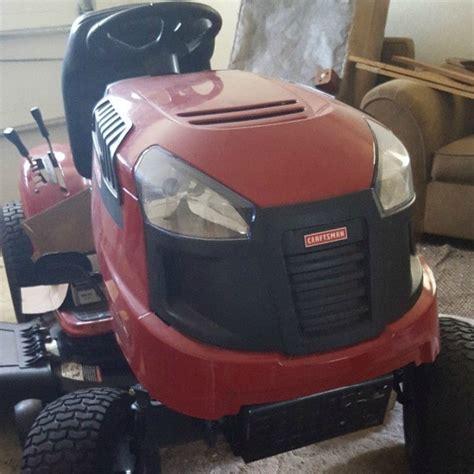 Craftsman Lawn Tractor Won T Start | craftsman lt 2000 riding mower won t start thriftyfun