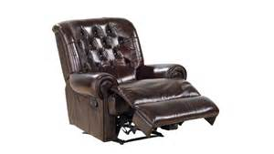 leather recliner spencer tub furniture house