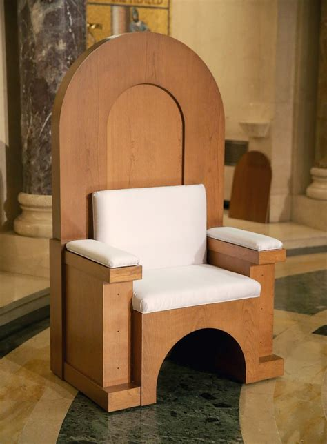 covered in his blood pope francis s custom made chairs