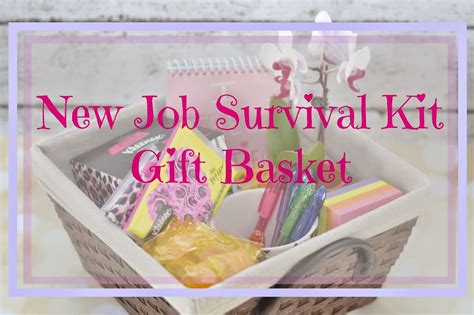 The New Congratulations Gift by New Survival Kit Gift Basket Survival Kit Gifts