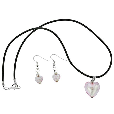 murano jewelry sets murano glass venetian reflections