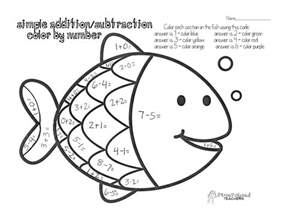 addition coloring pages color by number download