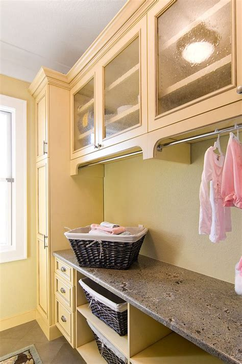 How To Hang Laundry Room Cabinets Laundry Room I The Subtle Cabinet Hanging Rods Practical For Air Drying