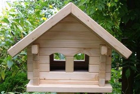 vogelhaus bauen anleitung bauanleitung f 252 r ein vogelhaus blockhaus ebay