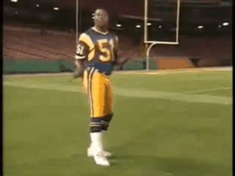 terry crews la rams rams gif find share on giphy