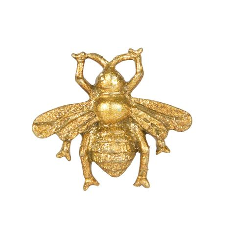 Golden bee vintage drawer knob