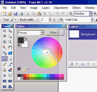 paint software paint net free image and photo editing software
