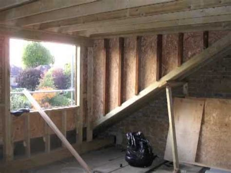 Framing A Gable Dormer Hip To Gable Loft Conversion Rainbow Construction Youtube