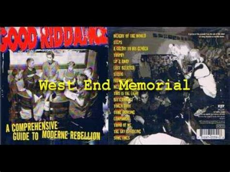 Riddance A Comprehensive Guide To Moderne Rebellion 1996 Cd riddance a comprehensive guide to moderne rebellion album