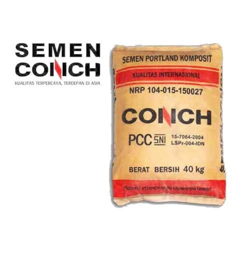 Conch 40kg sell cement conch 40 kg from indonesia by pt shanghai
