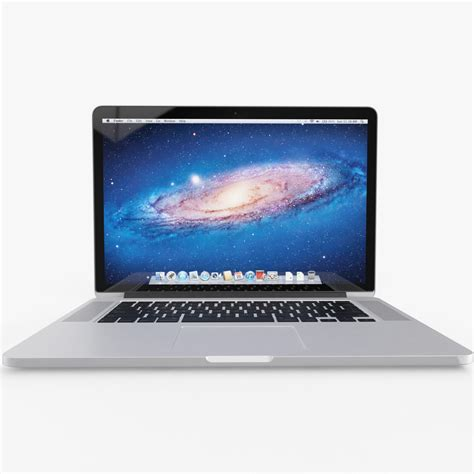 Macbook Pro Retina 13 Inch apple macbook pro 13 inch retina 3d model max obj fbx