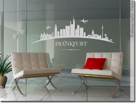 Sichtschutzfolie Fenster Frankfurt by Glasbild Frankfurt Selbstklebende Folie F 252 R Fenster