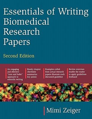 biomedical research papers essentials of writing biomedical research papers second