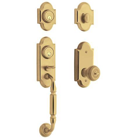 Baldwin Door Handleset - baldwin estate 85365 ashton two point handleset low