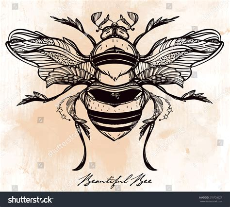 vintage style tattoos b logo crafty ideas bees
