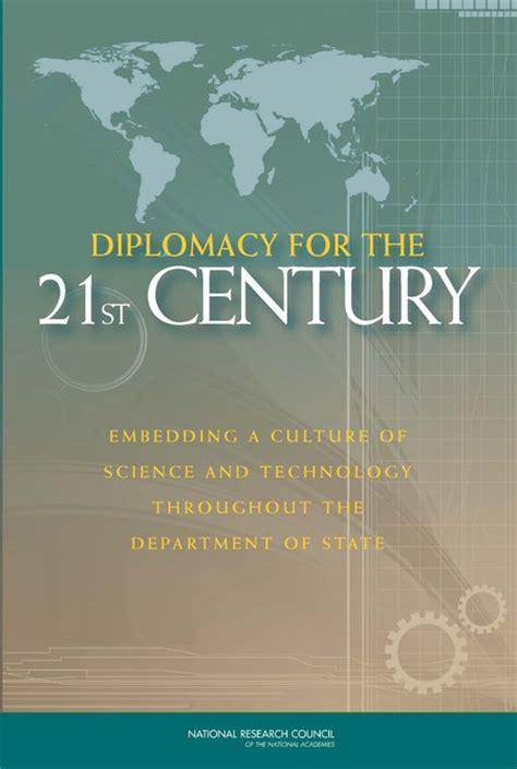 diplomacy   st century embedding  culture  science  technology