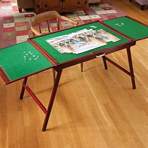jigsaw puzzle table bits and pieces wooden fold and go jigsaw table