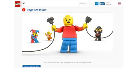 top layout guide not found 13 of the internet s best 404 error pages