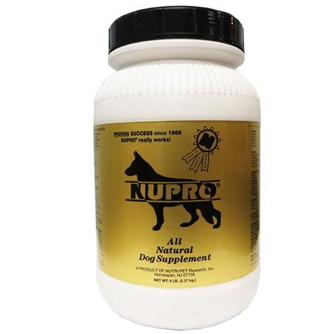 nupro supplement nupro all joint and immunity support supplement 5 lbs