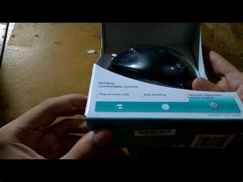 Mouse Logitech Kabel M100r unboxing logitech mouse m100r