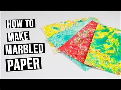 How To Make Marbled Paper With - how to crochet picot edge on washcloth my crafts and diy