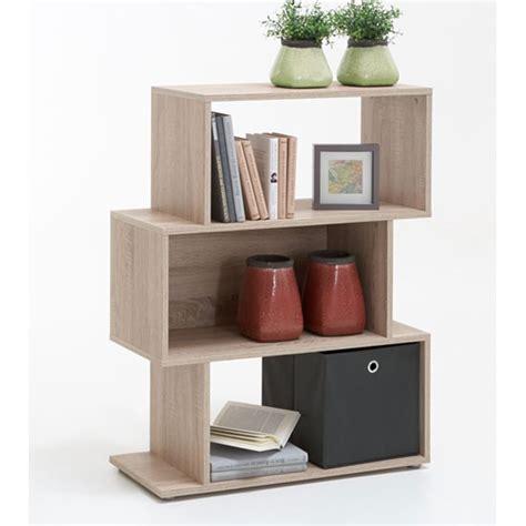 oak shelving units living room kubi2 shelving unit in oak with 3 compartments 25240