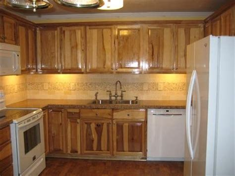rustic hickory kitchen cabinets  english  lumberjocks