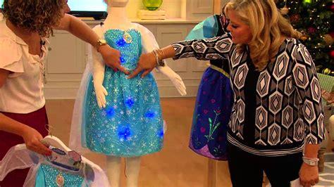musical light up dress disney s frozen light up musical dress with pat