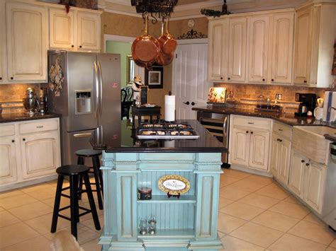 Kitchen Island Colors by Here Are What French Country Kitchen Made Of Midcityeast