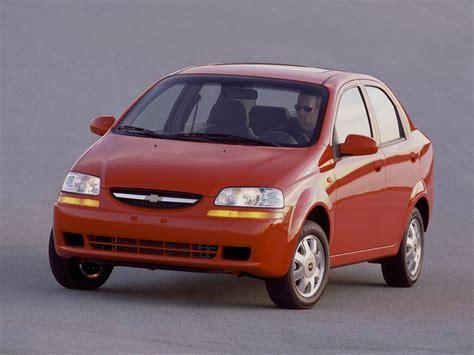 2004 Chevrolet Aveo chevrolet aveo kalos sedan specs 2004 2005 2006