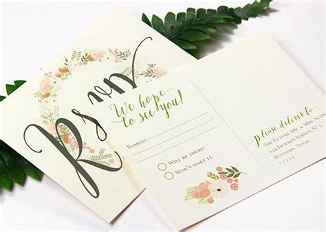 48 fresh rsvp card wedding wedding idea