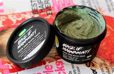 lush mask of magniminty lust lush mask of magnaminty pink peonies
