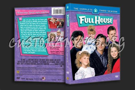 full house season 3 full house season 3 dvd cover dvd covers labels by customaniacs id 137750 free
