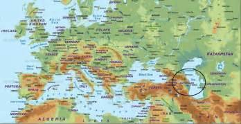 world map azerbaijan baku