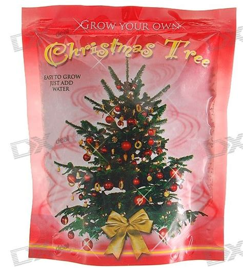 grow your own xmas tree kit merry its official only 364 more days until one more gadget