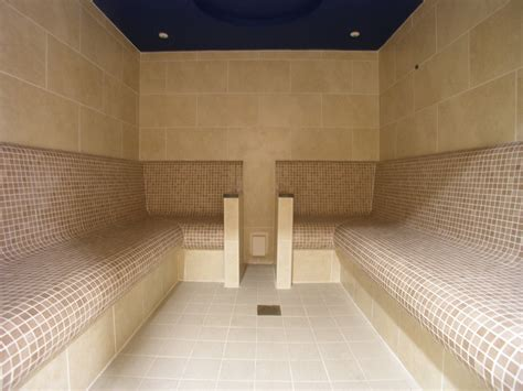 steam room when sick commercial tiled steam room pontypool bos leisure