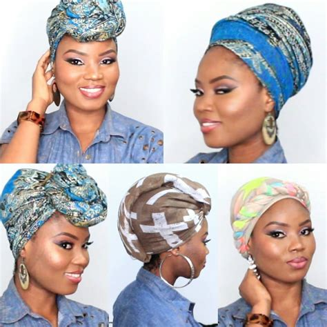 www hadtowrapshorthair 6 quick and easy headwrap turban style short natural hair