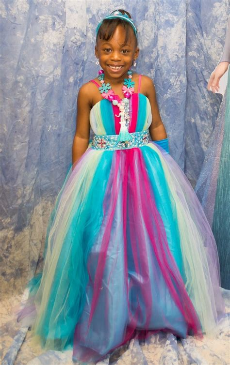 pageant dresses rainbow pageant dress