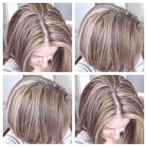 tri color hair tri color dimensional hair highlights and light