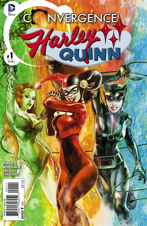 libro harley quinns cover gallery feb150160 convergence harley quinn 1 previews world