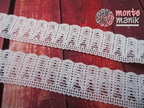 tutorial rajut renda renda rajut vintage putih 010 montemanik com pusat bahan