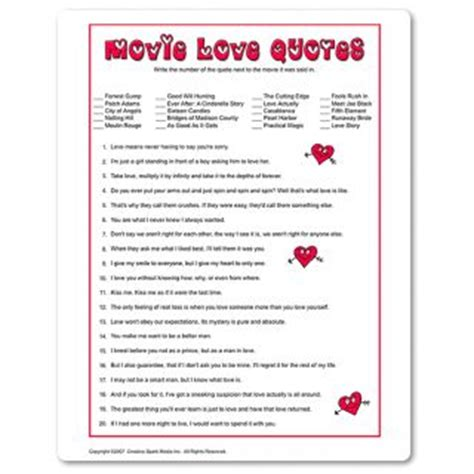 free printable valentine games for adults challenging game for adults which movie did we hear the
