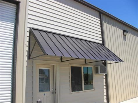 awning metal blade and metal awnings