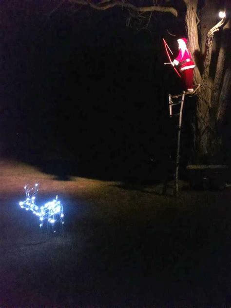 funny christmas treelights with deer 84 best images about humour on decorations reindeer and get
