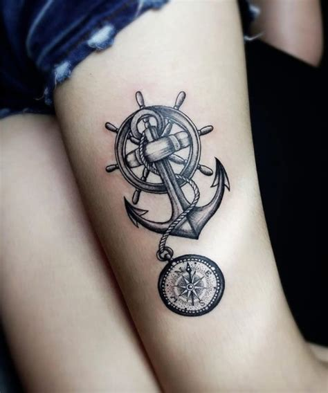 37 captivating anchor tattoos straight from the sea
