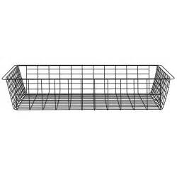clever closet wire basket 1 runner 85mm white bunnings